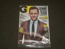 2017 Marzo GQ Revista - Tom Hiddleston Cubierta - B 2916