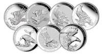Silbermünze Australien Wedge-Tailed Eagle, Keilschwanzadler 2014 bis 2020