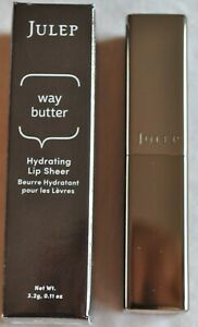 """JULEP Way Butter Hydrating Lip Sheer """"Plumeria"""" New F/S Boxed"""