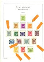 Top BRD Sammlung 1949-1974 mit Posthorn komplett - Schlegel BPP