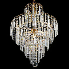 Elegant Crystal Chandelier Ceiling Light Lamp Pendant Lighting Fixture Modern