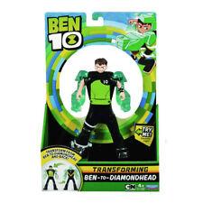Ben 10 Transformer Alien 17cm Figura - Ben-To-Diamondhead Nuevo