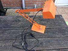 lampe De Bureau Bony Orange Type Vintage Lampe Architecte Loft Deco Comme Neuve