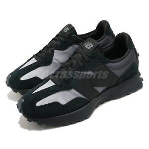 New Balance 327 Black Grey Gradient Colors Men Casual Lifestyle Shoes MS327SB D