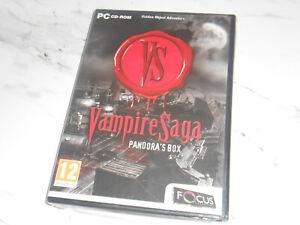 Vampire Saga: Pandora's Box  - PC Windows 7/8/10 ** BRAND NEW AND SEALED **