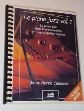 LE PIANO JAZZ jean p.CUSENIER partition SONGBOOK sheet music GOSPEL dispatching