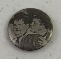 Vintage Laurel & Hardy Pinback Pin