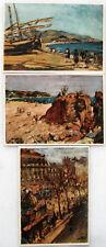 Colección lote de 3 postales tarjetas Laboratorio Tusell. Badalona, Barcelona, C