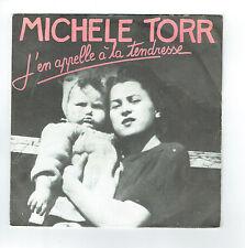 """Michele TORR Vinyle 45T 7"""" J'EN APPELLE A LA TENDRESSE Disc AZ 1841 F Rèduit"""