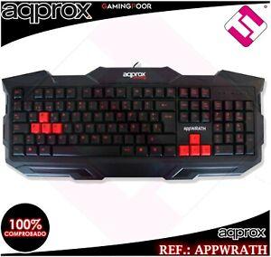 Keyboard Gaming APPWRATH Multimedia Design Ergonomic Economy Cheap Offer