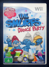 Wii The Smurfs Dance Party (2011, Ubisoft)