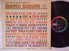 GOLDEN GASSERS On Capitol T-1561 MONO Compilation 1961 Various Artists VG+ Nice!