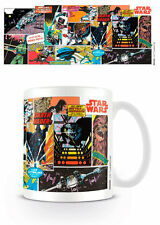 Taza Ceramica Comic Panels Star Wars Producto Oficial Disney