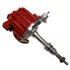 SBF Ford 260 289 302 V8 Coil Hei Distributor 50000 50K Volt with Red Cap