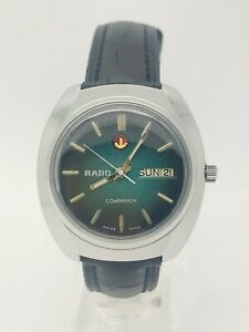 Vintage Rado Companion Automatic 25 Jewels Watch Great Conditions