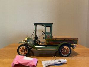 Franklin Mint 2008 Model T Christmas Truck, used, 1/16 scale, 534 of 2500