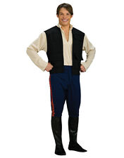 "Star Wars homme Han Solo costume style 2, STD, tour de poitrine 44"", taille 30-34"", entrejambe 33"""