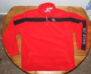 DALE EARNHARDT  WINNERS CIRCLE  1/4 zip   fleece  pullover jacket  LARGE