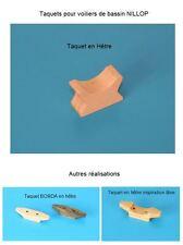NILLOP -- Bateau voilier de bassin -- Reproduction taquet en hêtre