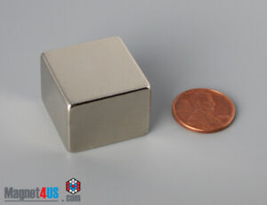 "1pc  1""x 1""x3/4"" N45  25x 25x19mm Rare Earth Neodymium Square Block Magnets"