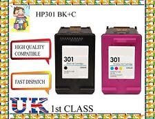 2 Remanufactured hp301BK&C  High Quality Inkjet Cartridges hp nonoriginal