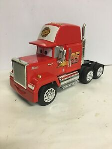 DISNEY PIXAR CARS MOVIE MACK TRAILER 1/24 DIECAST MODEL BY JADA 98103