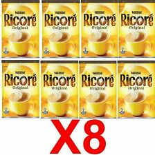 Nestle Original Ricore french instant coffee chicory breakfast drink Pack of 8