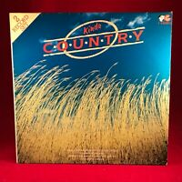VARIOUS  Kinda Country 1983 UK Double vinyl LP EXCELLENT CONDITION RECORD