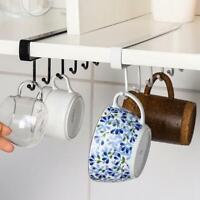 Kitchen Under Cabinet Towel Cup Paper Hanger Rack Organizer Holder Storage Z2H0
