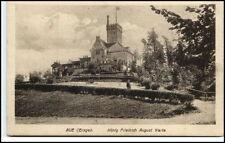 AUE Erzgebirge Sachsen ~1925 König Friedrich August Warte V. Kaufhaus Schocken
