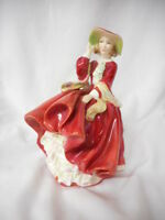 "Royal Doulton Figurine Top o' the Hill HN1834 1937  8"" Tall"
