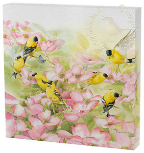 Marjolein Bastin Crowded Dogwood 12 x 12 Gallery Wrapped Canvas