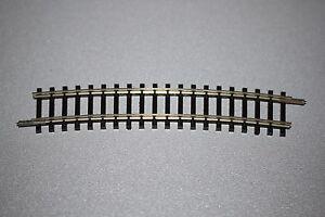 Pilz 83112 gebogenes Gleisstück R32 R396 15° Spur TT