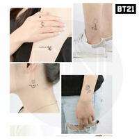 BTS BT21 Official Authentic Goods TATTOO Sticker 2P + Tracking Number