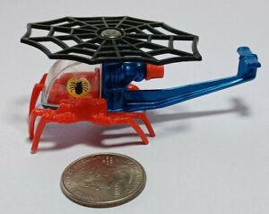 Spiderman Helicopter Spidercopter Corgi Juniors Gt. Britain Rare Vintage