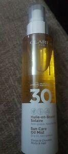 Clarins Sun Care Oil Mist for Hair & Body SPF30 150ml