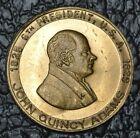 "JOHN QUINCY ADAMS 1825-1829 6th USA President MEDAL - ""The Diarist"" - Nice"