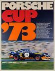 Porsche Cup '73 Vintage Race Poster