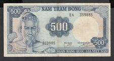 Vietnam South 50 Dong Banknote 1966 About Uncirculated Condition Cat#17-A-937611