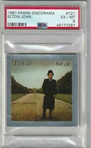 1981 Elton John Card PSA 6 Panini Discorama # 121 Only Graded Example