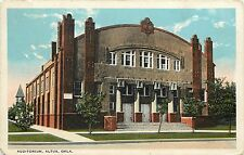 c1920 White Border Postcard; Auditorium, Altus OK Jackson County Posted