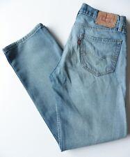 Men's Levis 505 Straight Leg Jeans W31 L30 Blue Size 31S Levi Strauss