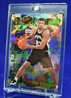 TIM DUNCAN TOPPS MIGHTY MEN REFRACTOR 2020 HALL OF FAME RARE SP GOING UP HOT