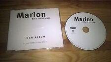 CD Pop Marion - The Program (10 Song) Promo MOTOR LONDON sc