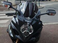 BULLE RACING SUZUKI GSXR 1000 2007 2008 NOIRE  t2