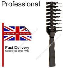 Hairdressing Vent Brush Original Professional Quality Black Styling Hair Brush