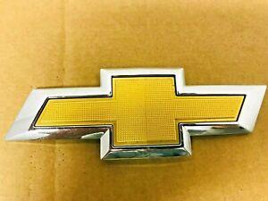 OEM 2016 2017 2018 Chevy Malibu Gold Box Tie Rear Trunk Emblem 23125930