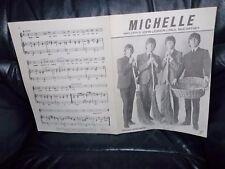 "THE BEATLES SHEET MUSIC ""MICHELLE"" NORTHERN SONGS LTD. LENNON & McCARTNEY FAB"
