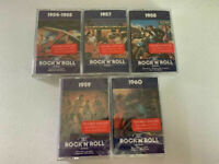 Time Life Music The Rock N' Roll Era Cassette Lot (5) New Sealed Cassettes