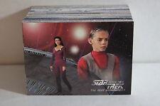 STAR TREK THE NEXT GENERATION SEASON 3 (1995) Complete Trading Card Set #205-312